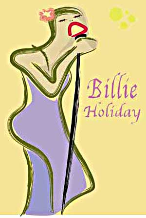 Billie holiday sing the blues